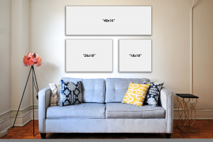 When Size Matters: Choosing the Right Canvas Size for Your Living Space