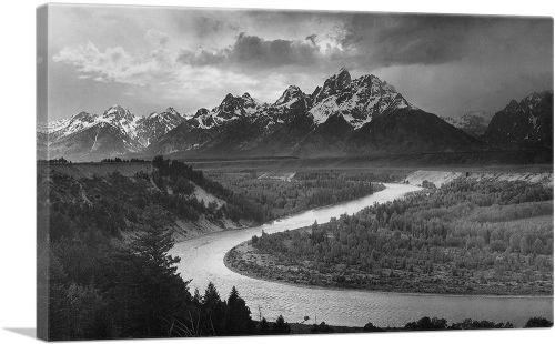 The Tetons - Snake River