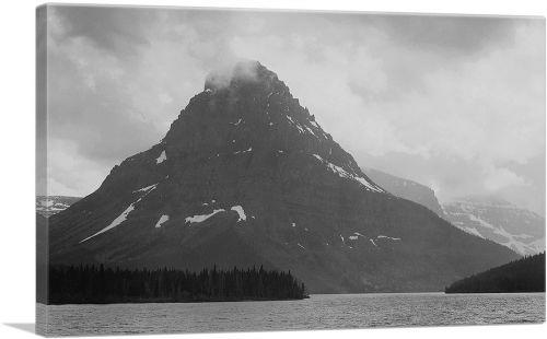 High, Lone Mountain Peak - Two Medicine Lake - Glacier National Park - Montana