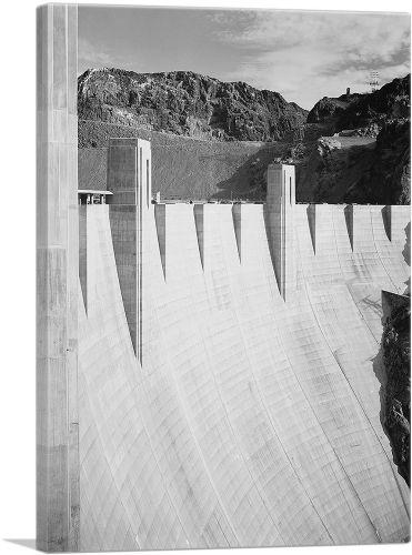 Close-Up Hoover Dam - Nevada