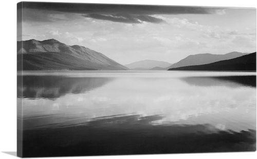 Evening - McDonald Lake - Glacier National Park - Montana