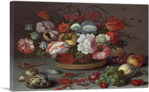 Basket of Flowers 1622
