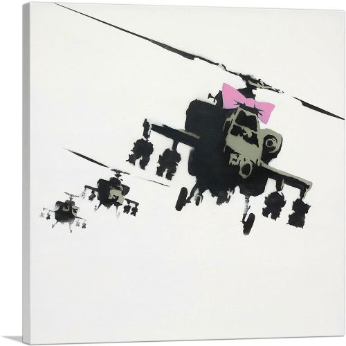 Happy Choppers - Pink Bow Hellicopter