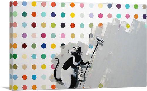 Rat Spots Banksy vs Hirst