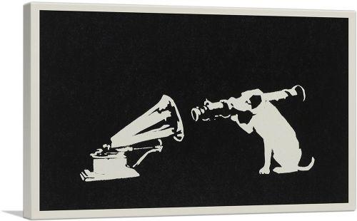 Black White Hmv Rocket Dog