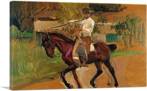 Junger Reiter - Garrochista 1914