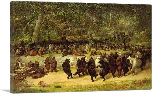 The Bear Dance 1850
