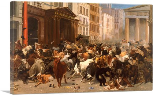 The Bulls and Bears in the Market 1879