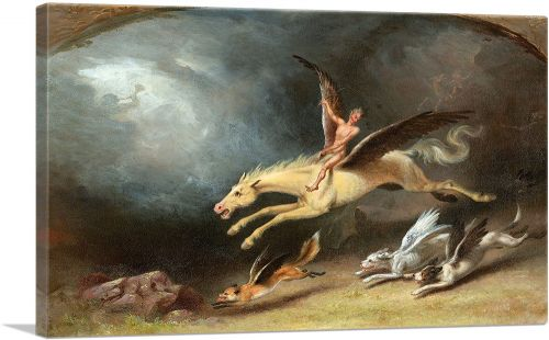 The Fox Hunter's Dream 1859