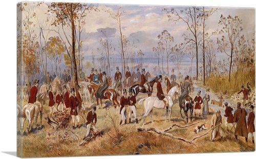 Fox Hunting 1890