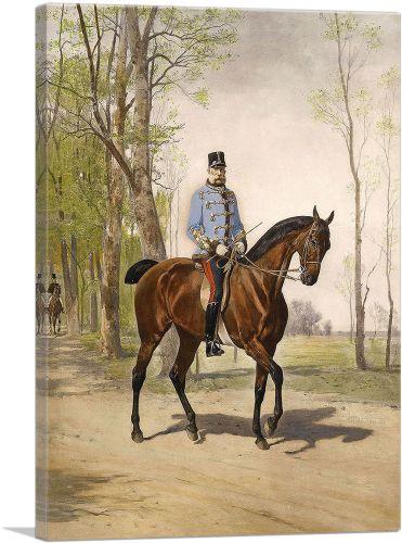 Julius Von Blaas Kaiser Franz Joseph 1890
