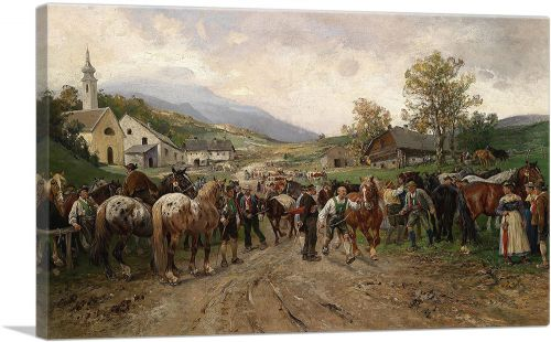 Pferdemarkt 1917