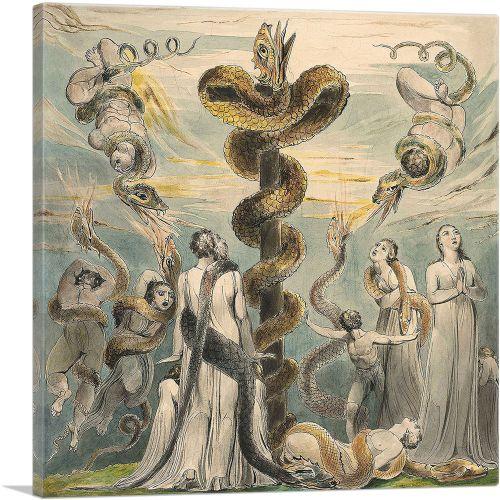 Moses Erecting the Brazen Serpent