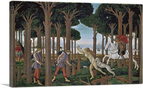 The Story of Nastagio degli Onesti I 1483