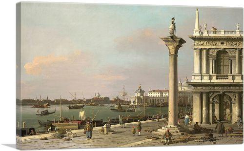 Bacino di S. Marco From the Piazzetta 1750