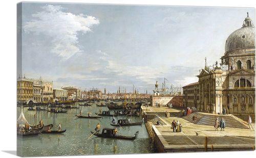 The Entrance To The Grand Canal - Venice