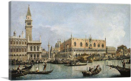 The Molo and the Piazzetta San Marco - Venice