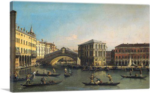The Rialto Bridge - Venice