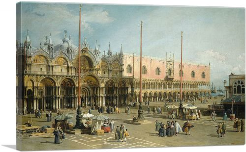 The Square of Saint Mark's - Venice