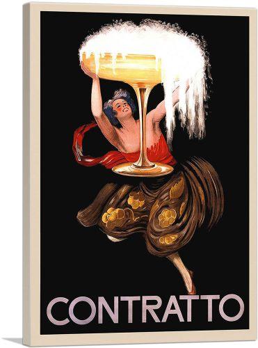 Contratto Champagne Liquor 1922