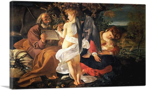 Rest on the Flight to Egypt 1597