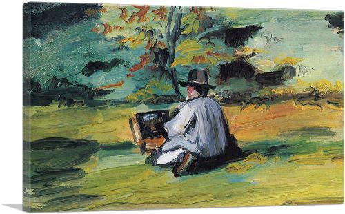 A Painter at Work 1875