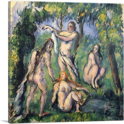 Four Bathers 1880