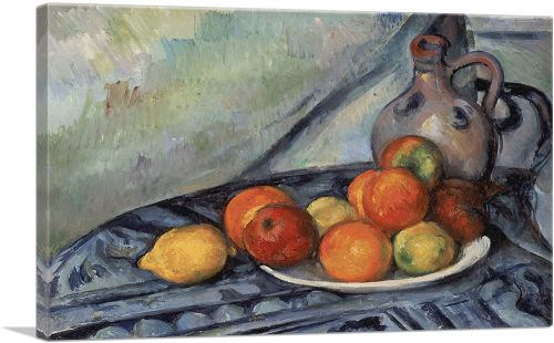 Fruit and a Jug on a Table 1894