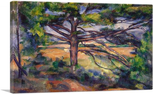 Great Pine Near Aix - Large Pine and Red Earth 1897