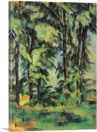 Large Trees At Jas De Bouffan 1887