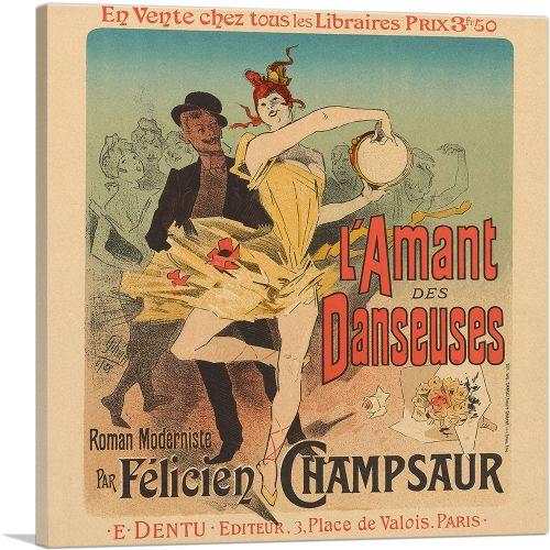 L'Amant Des Danseuses 1896