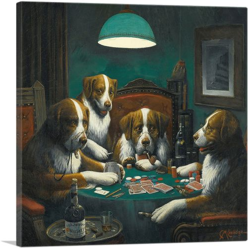 The Poker Game 1894