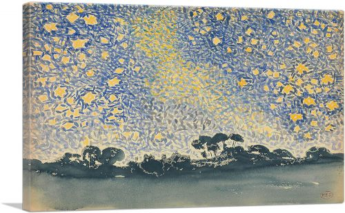 Landscape with Stars 1908