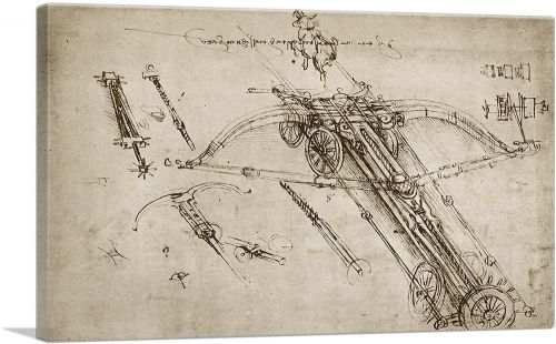 Giant Crossbow Design 1485