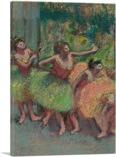 Dancers in Green and Yellow 1903