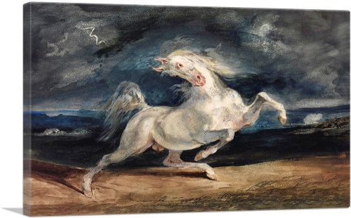 Horse Frightened by Lightning 1829
