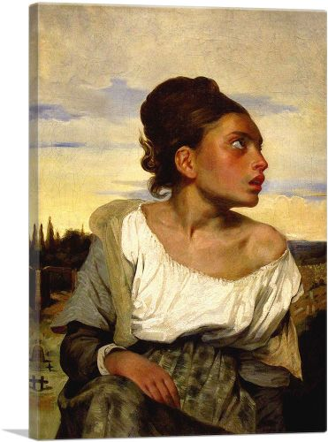 Orphan Girl at the Cemetery 1824