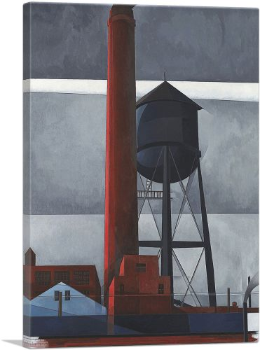 Chimney and Water Tower 1931