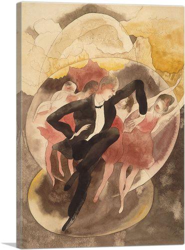 Dancer with Chorus 1918