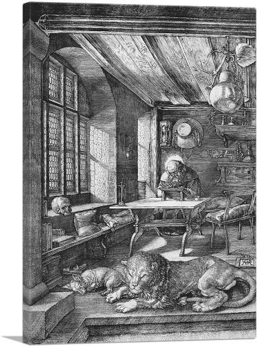 Saint Jerome in His Study 1514
