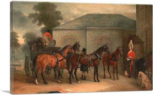 The Drag of Sir Watkin Williams Wynn 1843