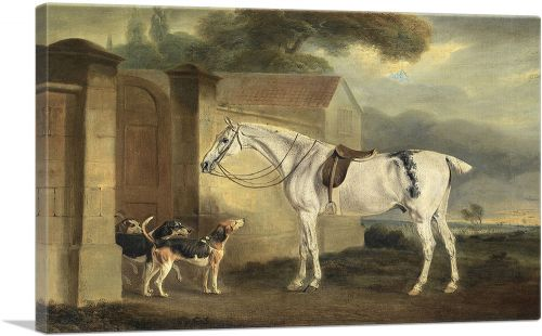 Brass, at Cottesmore With the Cottesmore Hounds 1818
