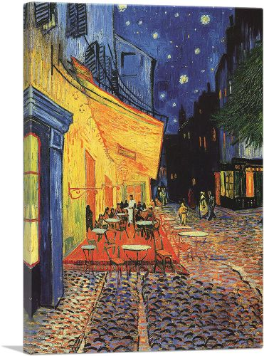 Cafe Terrace at Night 1888
