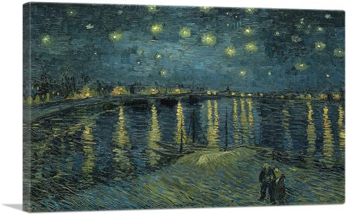 Starry Night Over the Rhone 1888