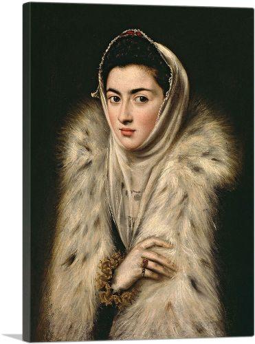 Lady in a Fur Wrap
