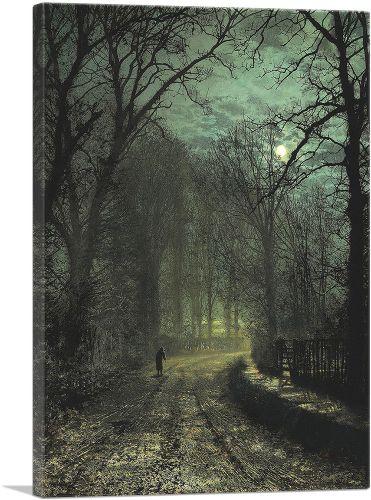 A Yorkshire Lane in November 1873
