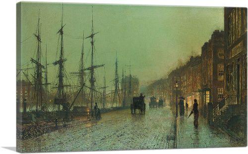 Glasgow Docks 1881