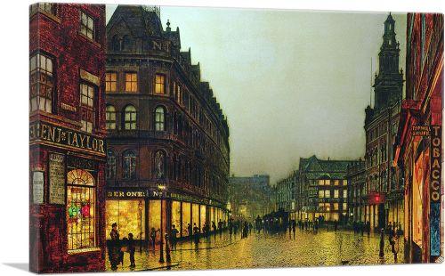 Boar Lane - Leeds 1881