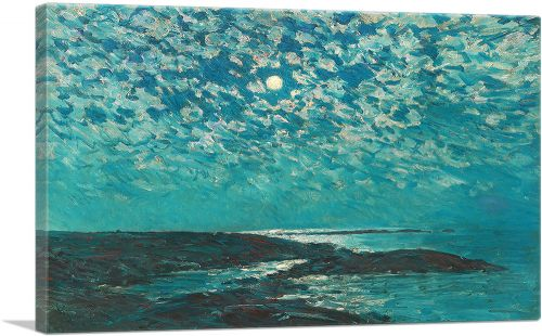 Moonlight - Isle of Shoals 1892