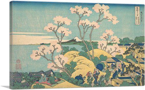 Goten-Yama Hill - Shinagawa on the Tokaido Road 1832